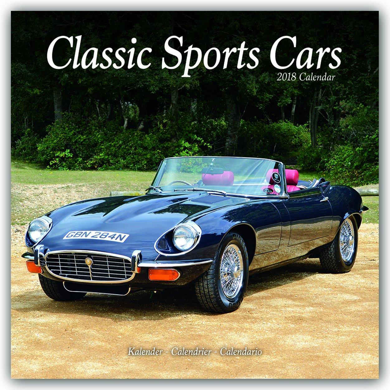 Sports Cars Calendar Classic Sports Cars Calendar Calendars - Sports cars calendar 2018