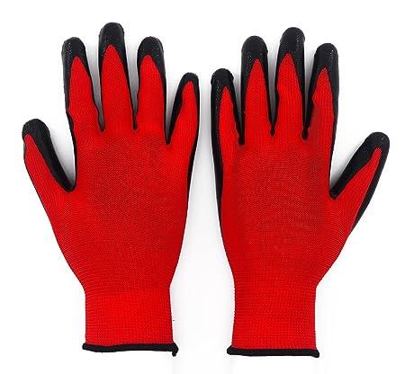 10 X Showa 350r Thorn Master Nitrile Grip Gardening Work Safety Gloves All Sizes Gardening Gloves