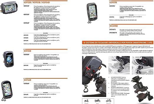 Givi KS954B Navi y Bolso para Smartphone con Soporte 5: Amazon.es ...
