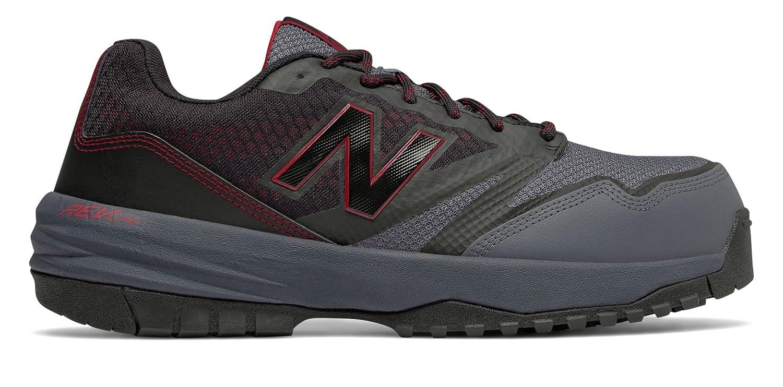 (ニューバランス) New Balance 靴シューズ メンズワーク New Balance 589 Black with Red ブラック レッド US 13 (31cm) B073BL3LWY