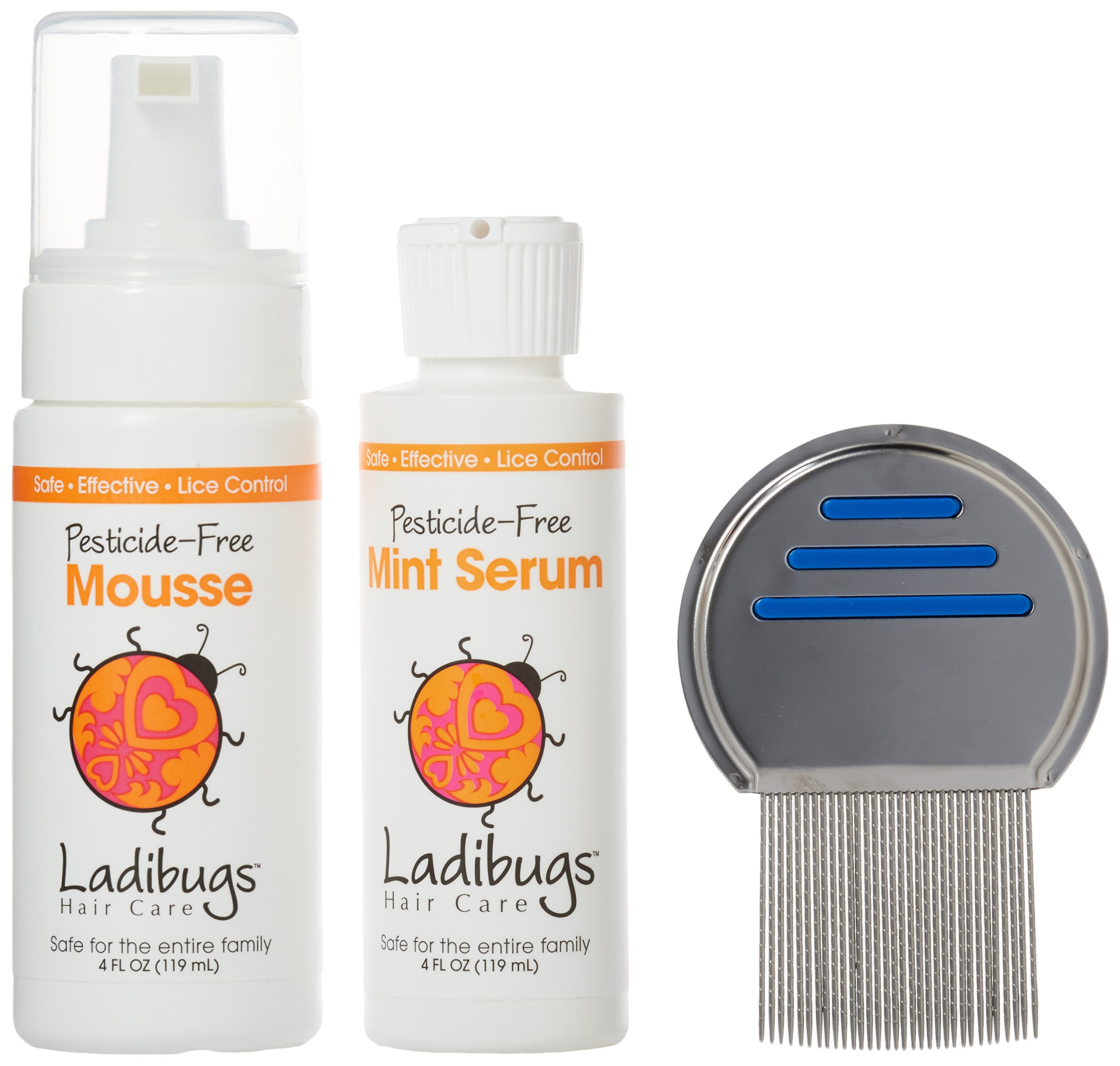 Ladibugs Lice Elimination Kit, 3 Count