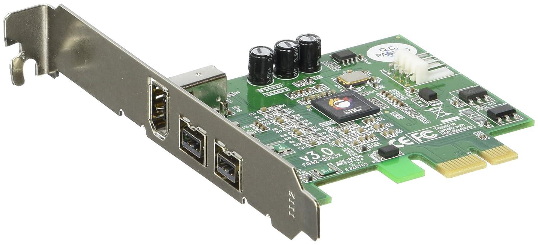 SIIG 3PORT Firewire 800 Pcie 2X9PIN 1X6PIN