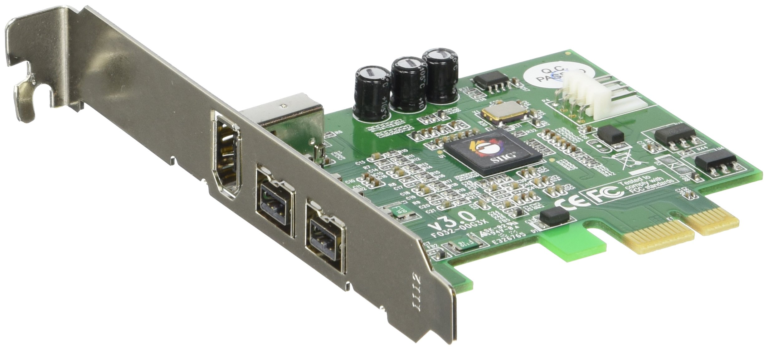 3PORT Firewire 800 Pcie 2X9PIN 1X6PIN by SIIG
