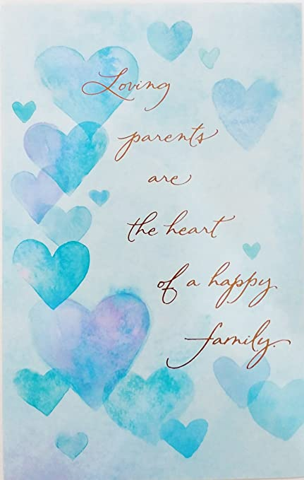 Amazon loving parents are the heart of a happy family happy loving parents are the heart of a happy family happy anniversary to mom and dad m4hsunfo