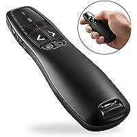 GuDoQi Puntero De Presentador Inalámbrico Punteros Para Presentaciones USB Apuntador PPT Control Remoto Para Presentación Powerpoint