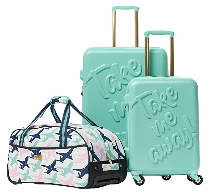 Macbeth Women s Take Me Away 3 Piece Nested Luggage Set 1c82bf384267b