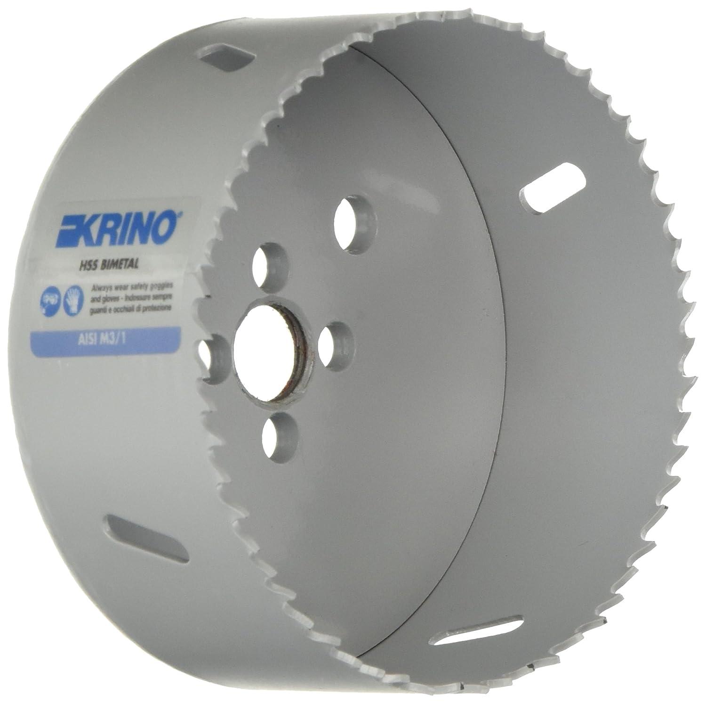 Krino 2106017700 Seghe a Tazza Bimetalliche HSS a Dentatura Variabile 177 mm Grigio