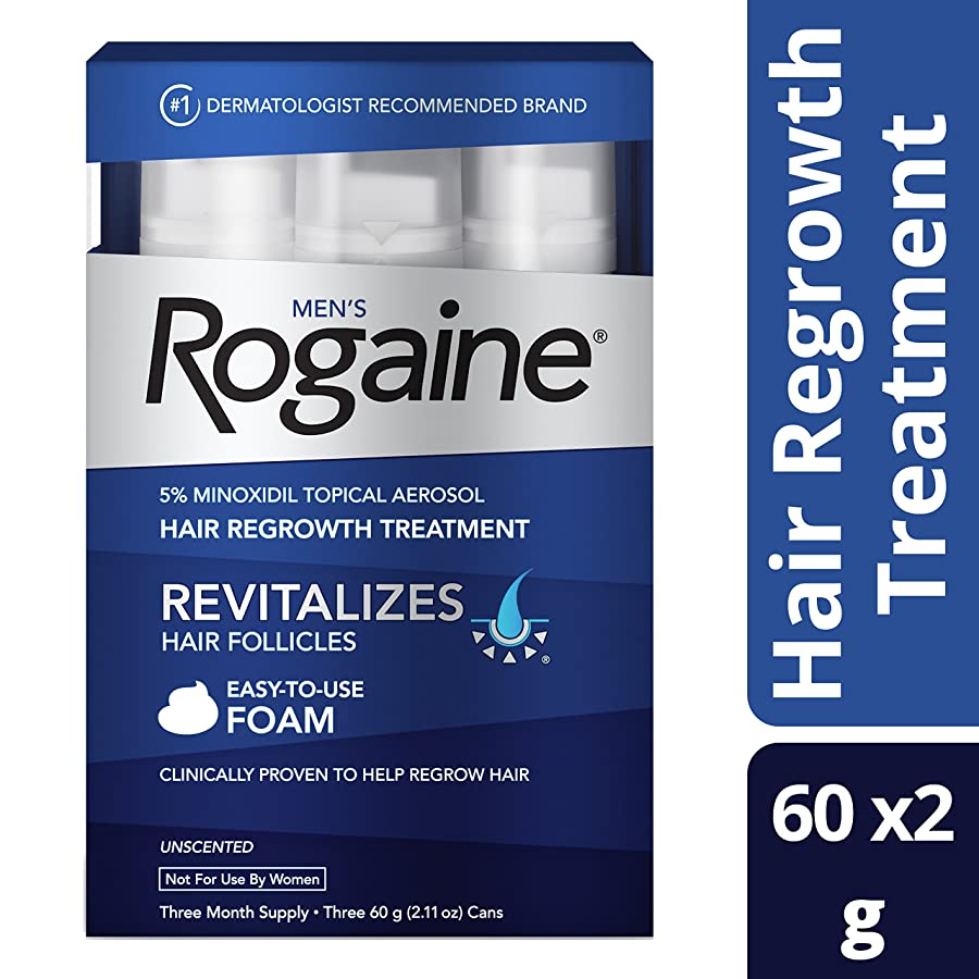 how to grow hair faster and get the long with rogaine