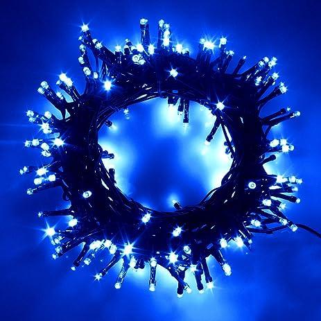 Outdoor Led Fairy Lights Amazon yztree 500 leds string fairy lights 165ft outdoor led yztree 500 leds string fairy lights 165ft outdoor led string lights with 8 lighting modes for workwithnaturefo