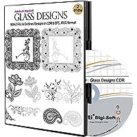Abhikruti Glass Designs Templates in CDR 1 PC (DVD)