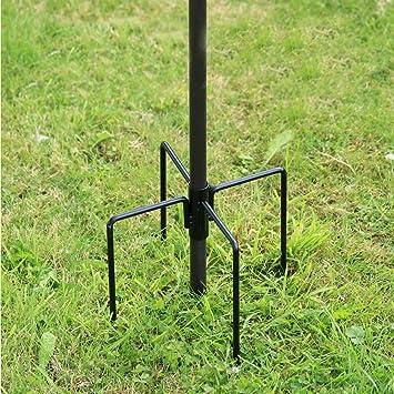 Bird Feeder Pole Hangers Feeding Station Stabilizer Feet SpikesStand Garden