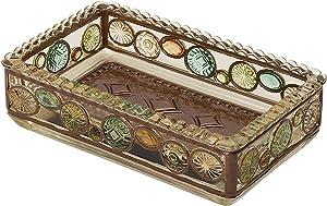 Zenna Home, Bronze Boddington Soap Dish, Finish with Translucent Colors