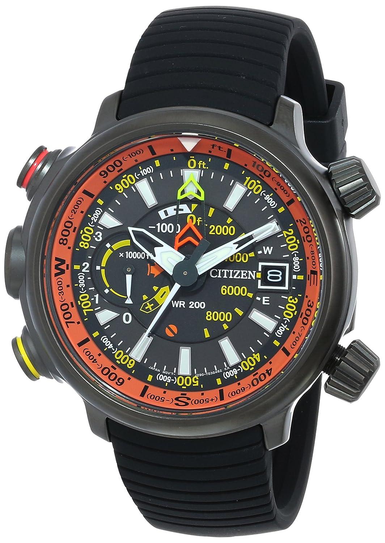 [シチズン]Citizen 腕時計 Altichron Eco-Drive Titanium Black Rubber BN5035-02F メンズ [逆輸入] B00DBUVNX4
