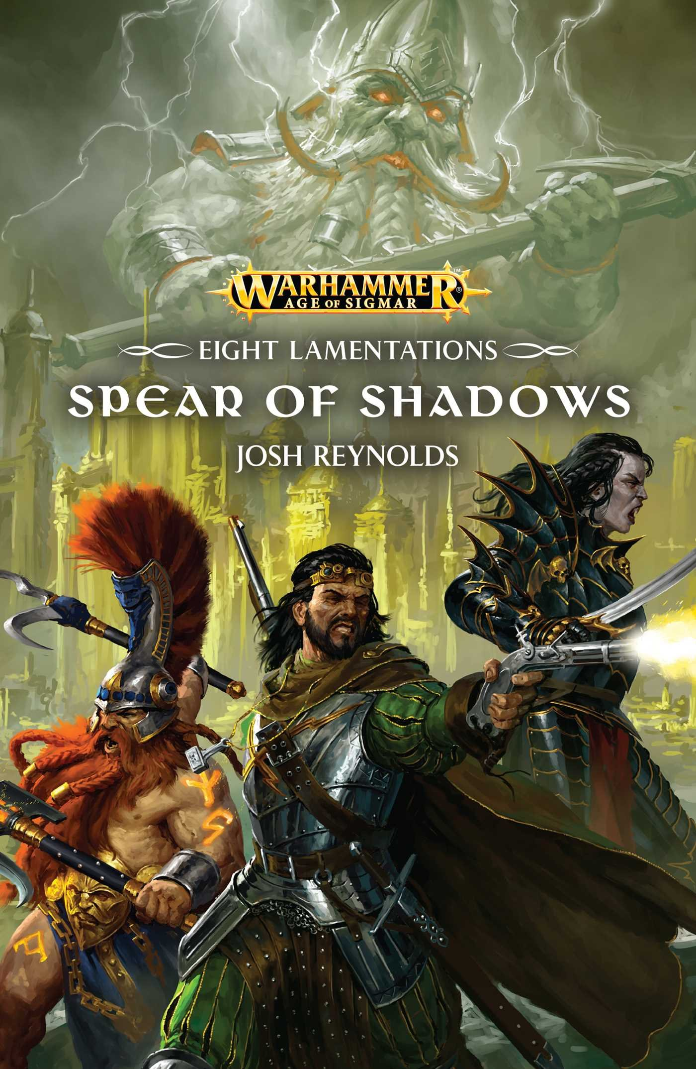 Download The Spear of Shadows (Eight Lamentations) pdf