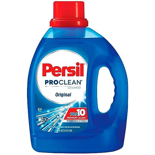 Persil ProClean Liquid Laundry Detergent, Original, 100 Fluid Ounces, 64 Loads