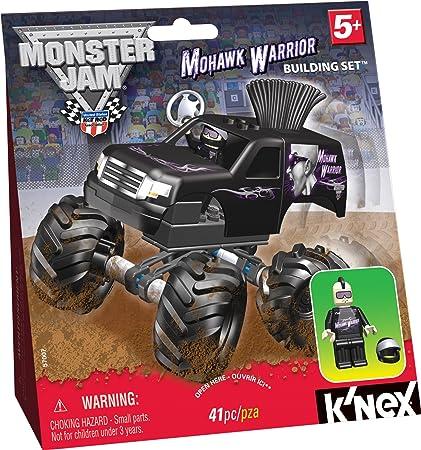 Amazon Knex Monster Jam Mohawk Warrior Build Set Toys Games