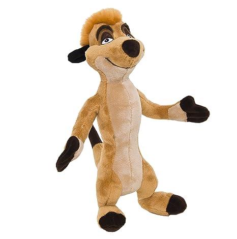 leone peluche  Joy Toy Disney 1100217 - Il re leone, peluche Timon 20 cm:  ...
