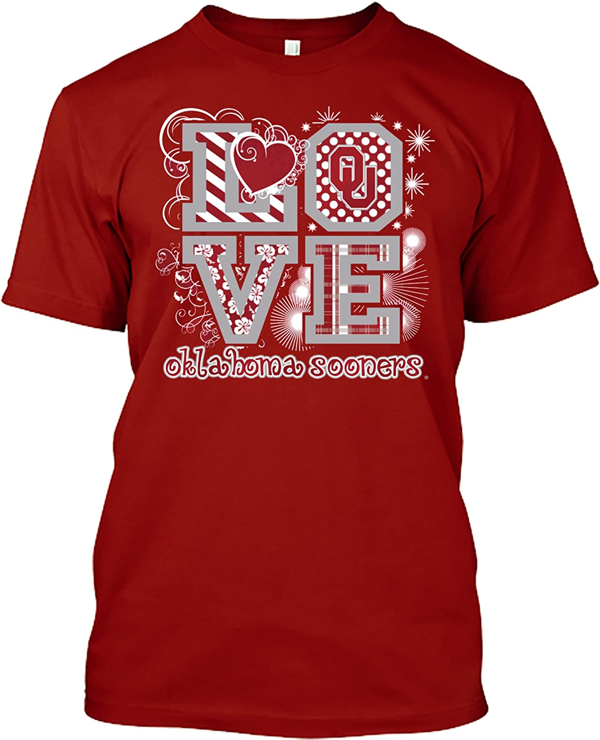 Multiple Teams Available New World Graphics NCAA Love T-Shirts