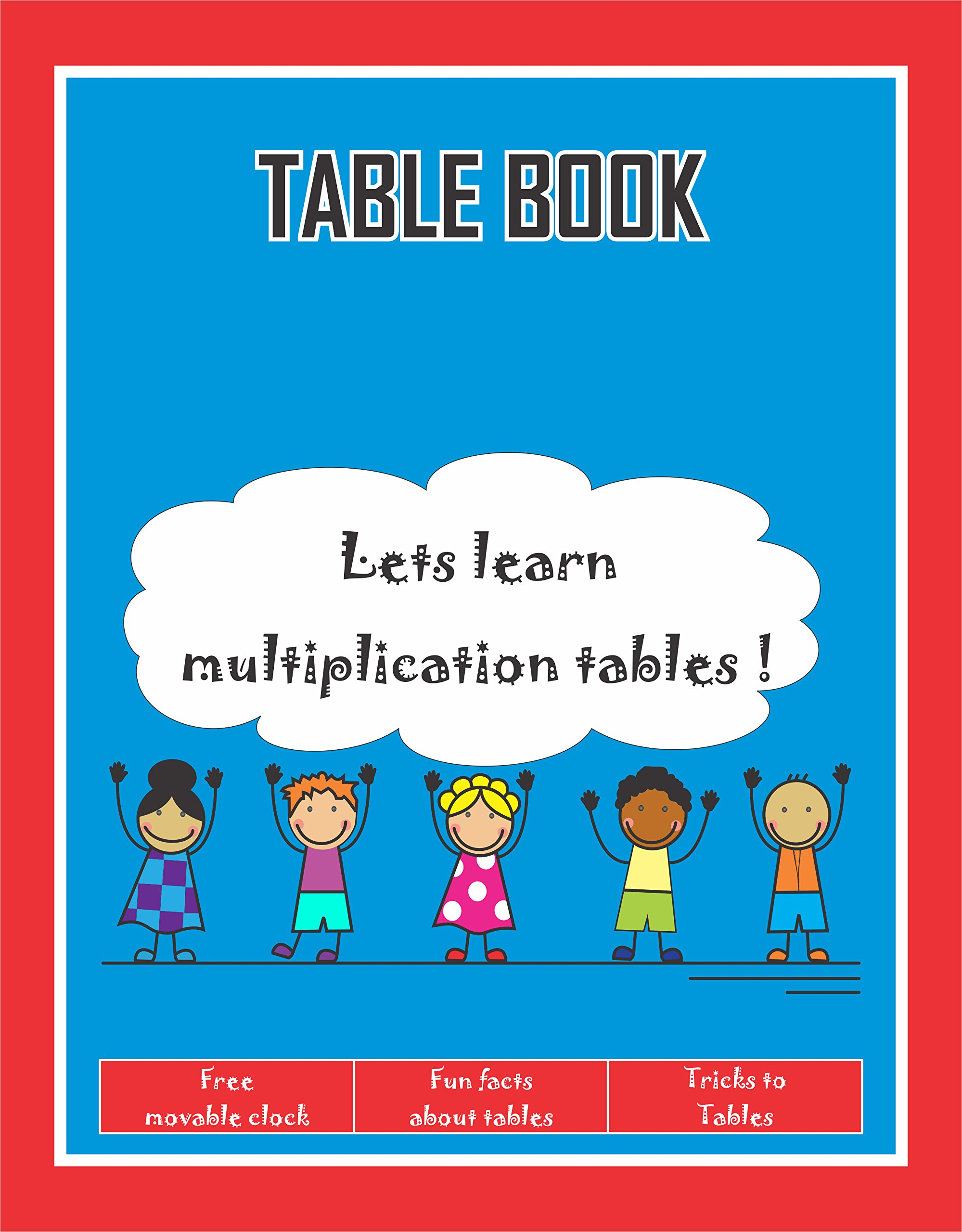 Buy Maths Tables Book For Beginners Learning Tables 1 To 20 Fun