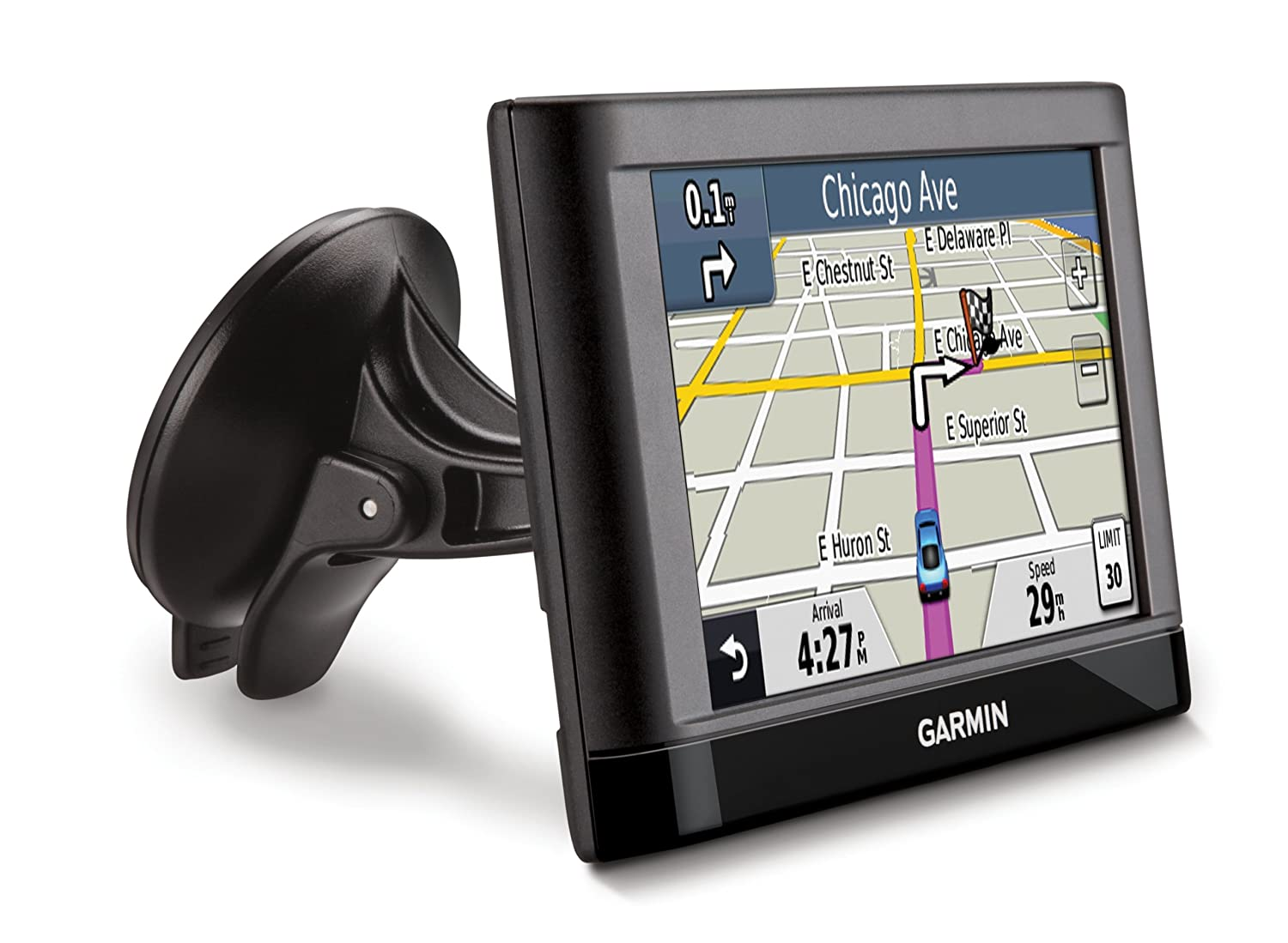 amazon com garmin nuevi 42lm 4 3 inch portable vehicle gps with lifetime maps us discontinued by manufacturer cell phones accessories