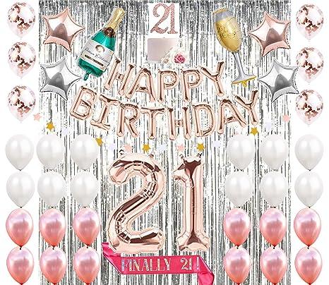 Mayen 21st Birthday Decorations