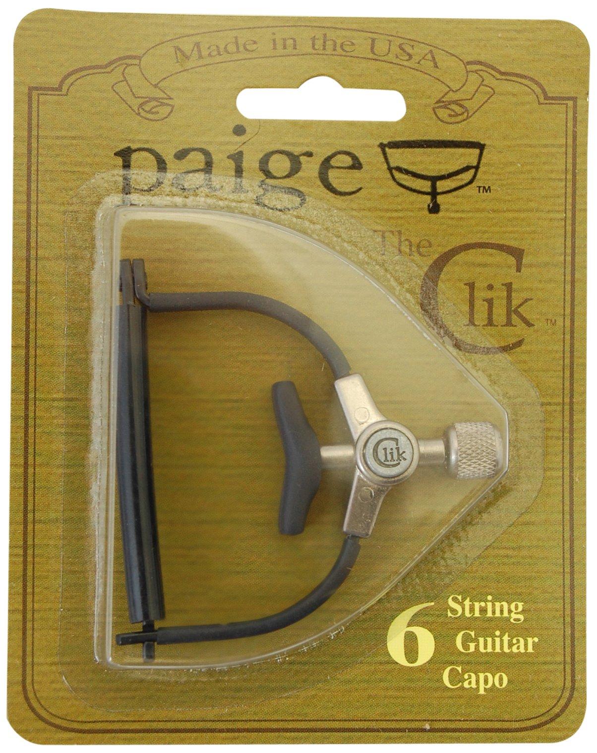 Paige PC-6-2.062-R Clik Guitar Capo