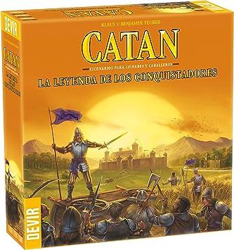 Oferta amazon: Devir-Catan La Leyenda de Los Conquistadores (BGCATLEY)