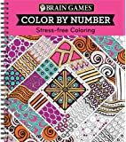 Brain Games® Color by Number: Stress-Free Coloring (Pink)