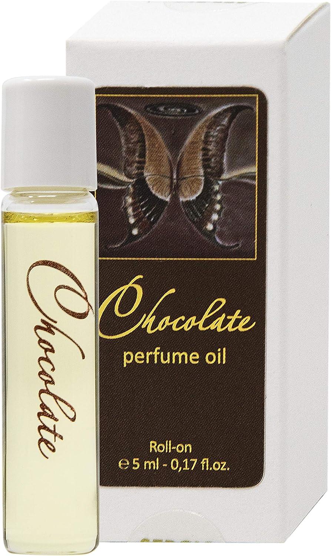Aceite de perfume Chocolate para Mujeres 5 ml miniatura Roll-on, Fragancia Gourmet Dulce para ella de SERGIO NERO – Perfumería como MAQUILLAJE: Amazon.es: Belleza