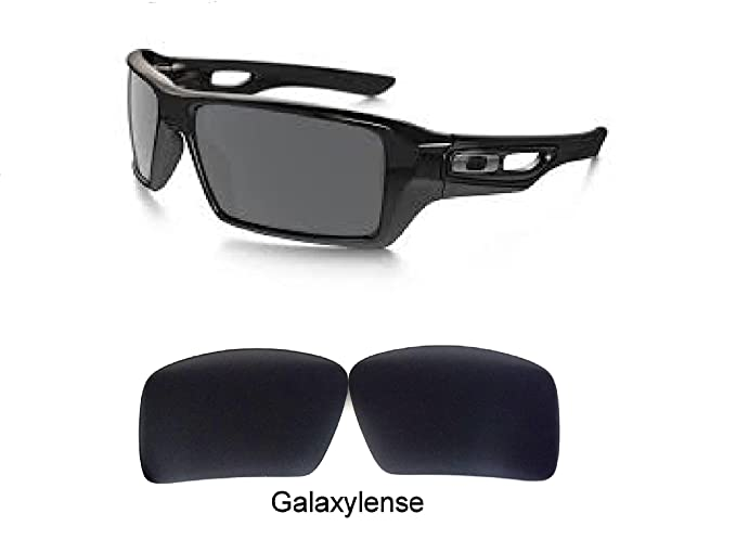 galaxylense Hombre Lentes De Repuesto Para Oakley eyaptach 1&2 Gafas De Sol Negro Polarizado