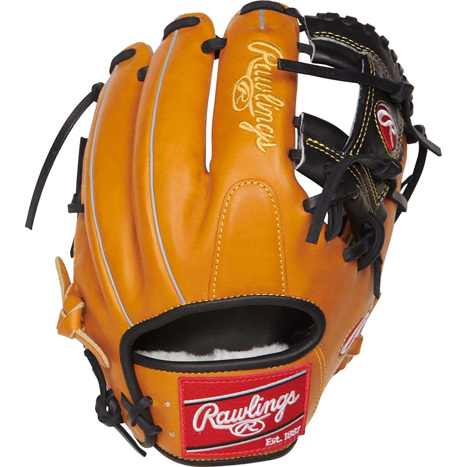 Rawlings Pro Preferred 11.5 Inch PROS204-2RTB Baseball Glove Rich Tan 11.5 Rawlings Sporting Goods