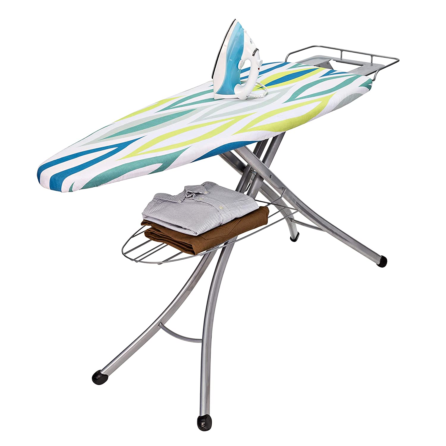 Honey-Can-Do BRD-02955 18 by 48-Inch Ironing Board with Rest and Shelf by Honey-Can-Do B009LFQ4U0