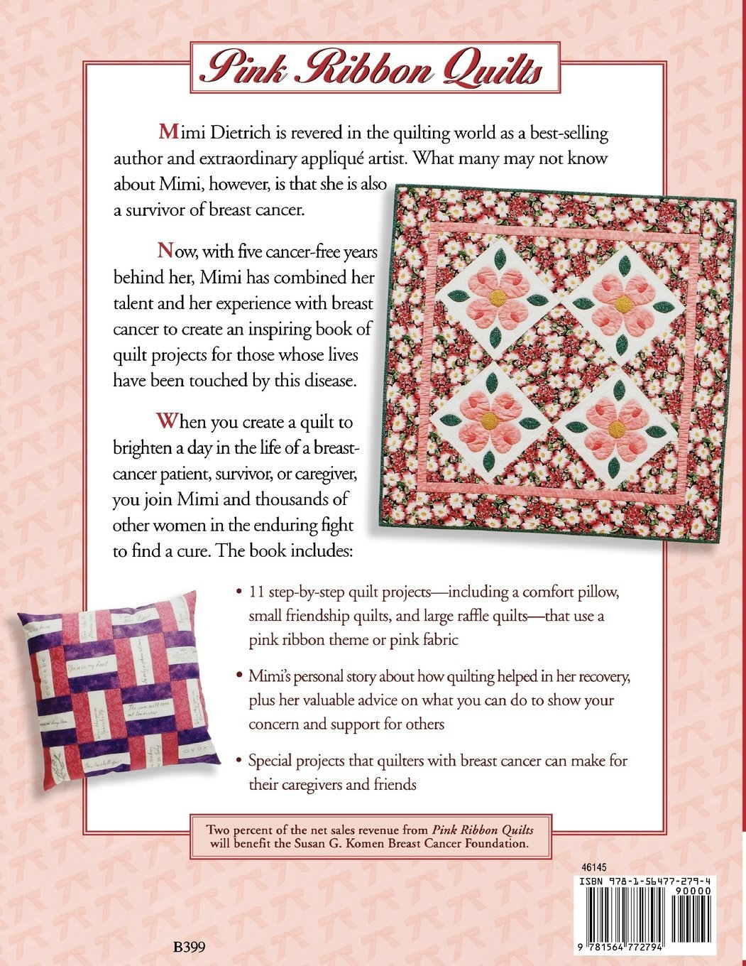 breast cancer against Quilters