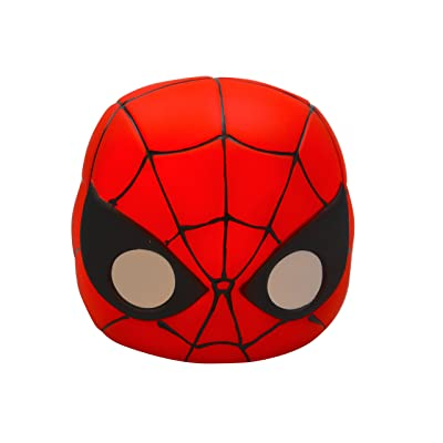 UPD Marvel Spiderman Glow Buddies Shaped Head Mini Night Light, Multicolor: Toys & Games