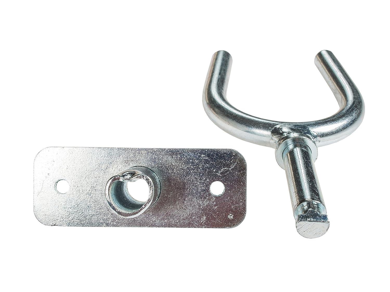 Horn Type verzinkt. Oar Lock Rowlock Ruderdollen Set 2Pcs