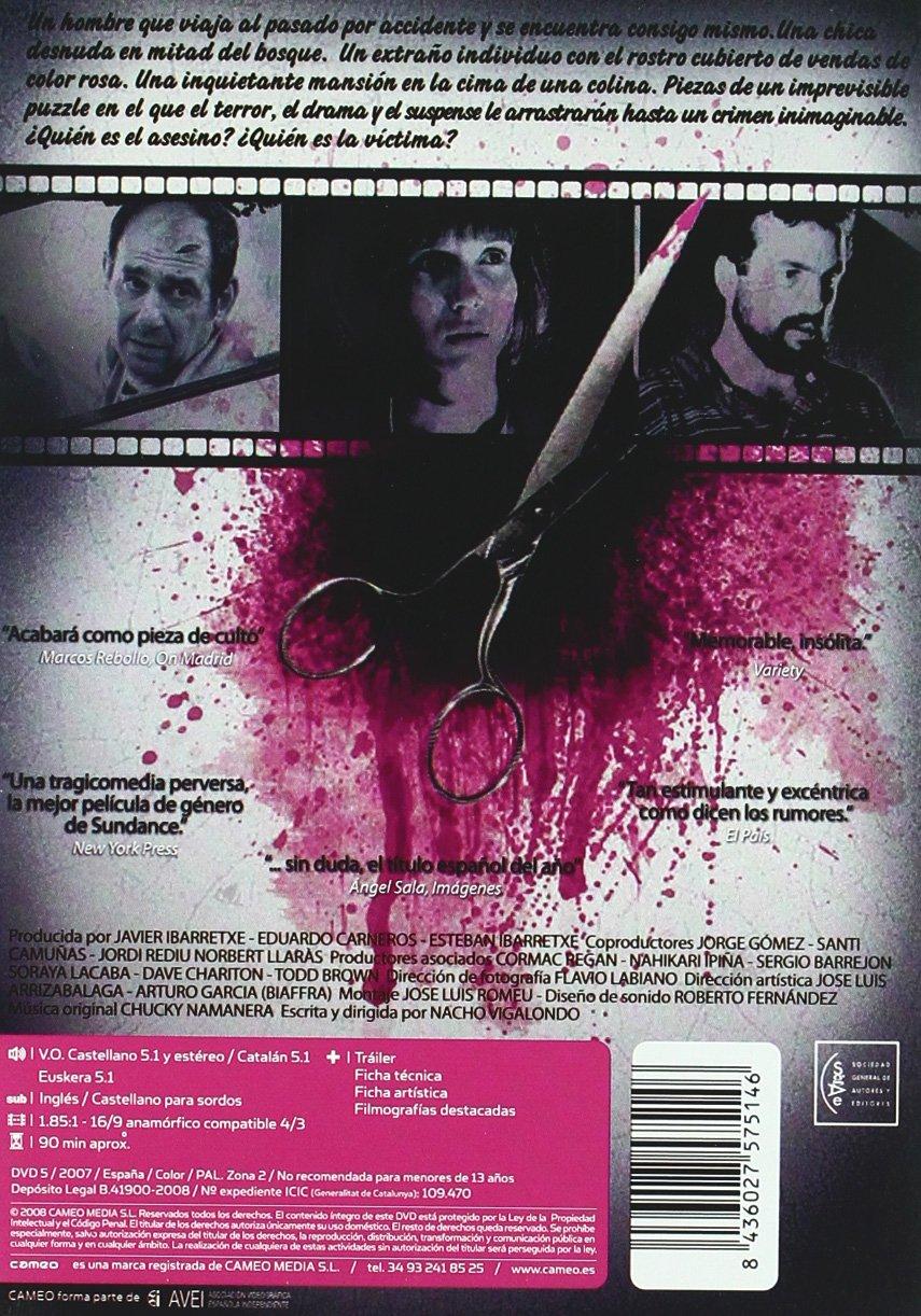 Los Cronocrímenes [DVD]: Amazon.es: Karra Elejalde, Nacho Vigalondo, Barbara Goenaga, Candela Fernandez: Cine y Series TV
