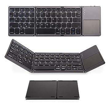 281a651807b Jelly Comb Tri-fold Wireless Ultra-Slim Portable Bluetooth Keyboard
