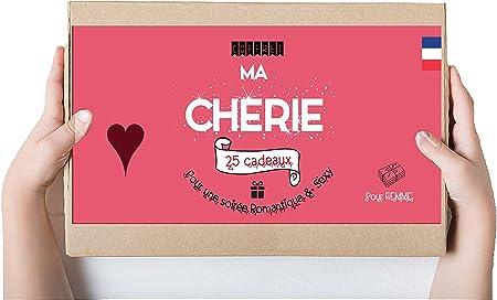 Coffret Cadeaux Ma Cherie   pour Madame 25 Surprises Coquines et