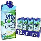 Vita Coco Coconut Water, Pure Organic | Refreshing Coconut Taste | Natural Electrolytes | Vital Nutrients | 11.1 Oz…