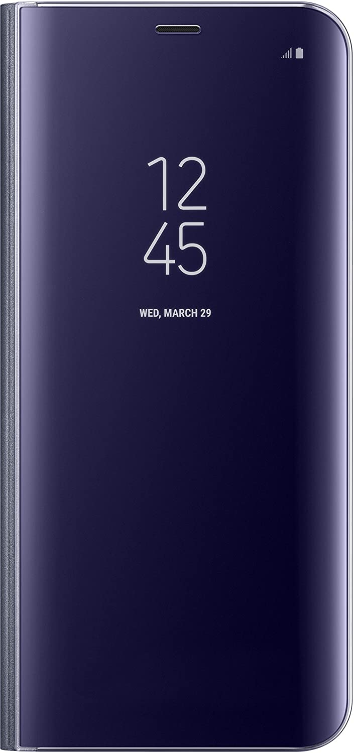 outlet store c4858 ba86b Genuine Samsung Clear View Standing Cover Flip Case for Samsung Galaxy S8+  / S8 Plus - Violet (EF-ZG955CVEGWW)