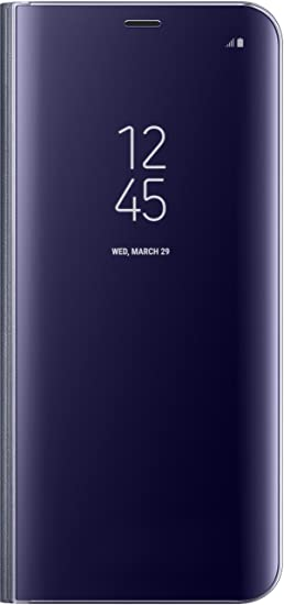 outlet store ed544 c4990 Genuine Samsung Clear View Standing Cover Flip Case for Samsung Galaxy S8+  / S8 Plus - Violet (EF-ZG955CVEGWW)