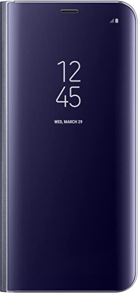 Samsung Clear View Standing, Funda para smartphone Samsung Galaxy S8 Plus, Violeta