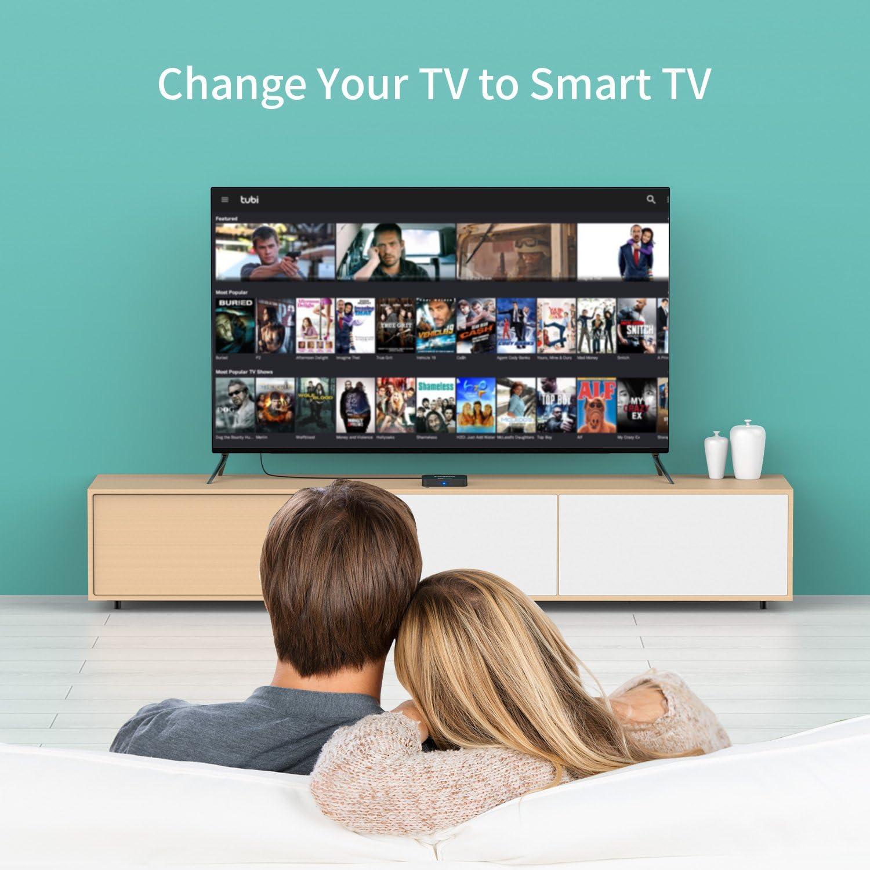 2 + 16G/Mini teclado] egoiggo S95 X Pro Android TV Box/Wireless Mini teclado/2GB + 16GB/Quad Core/4 K/2.4G WiFi Android 6.0 Smart TV Box: Amazon.es: Electrónica