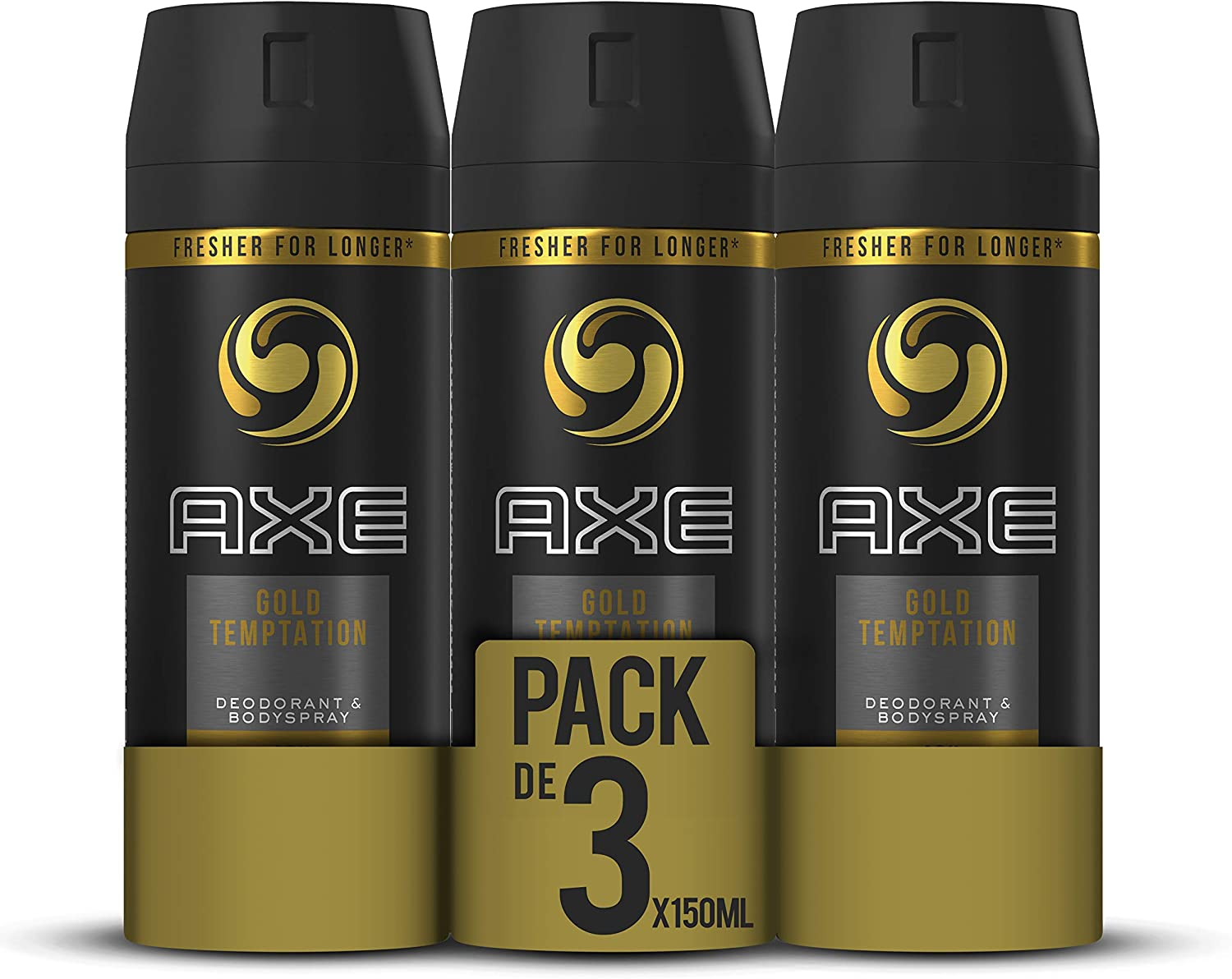 AXE Gold Temptation - Desodorante Bodyspray para hombre, 48 horas ...