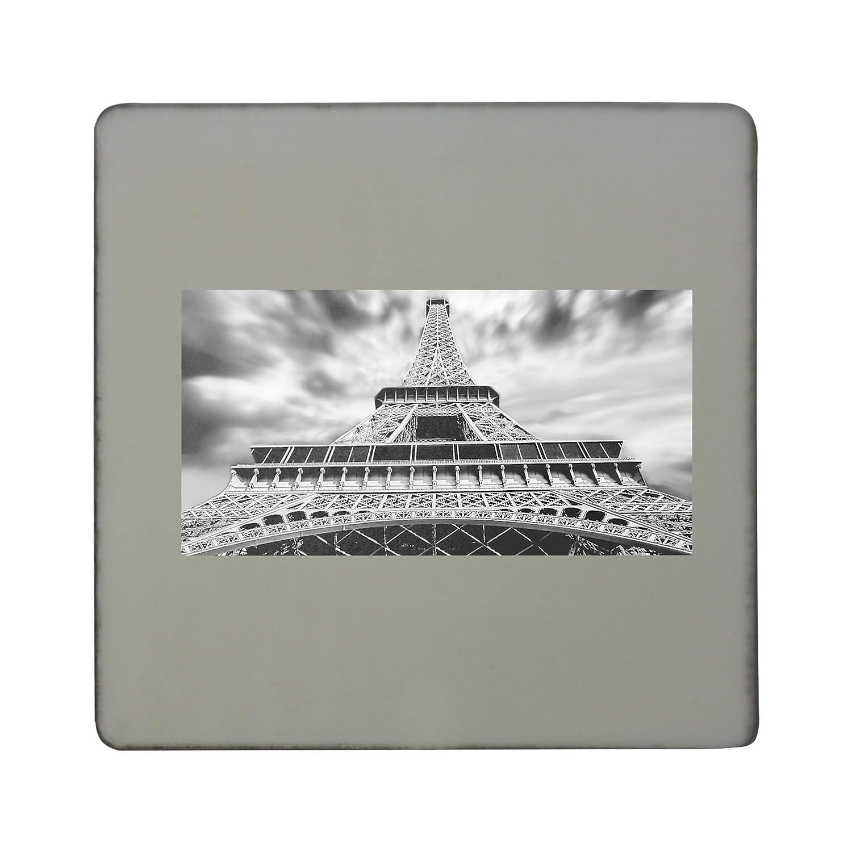 Torre Eiffel, París, ciudad, historia de tablero cuadrado imán ...