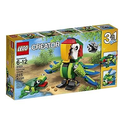 LEGO Creator Rainforest Animals: Toys & Games