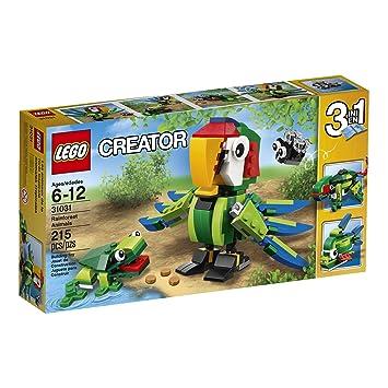 Amazon.com: LEGO Creator Rainforest Animals: Toys & Games