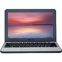 ASUS Chromebook, Grey/Dark Blue, C202SA-GJ0033