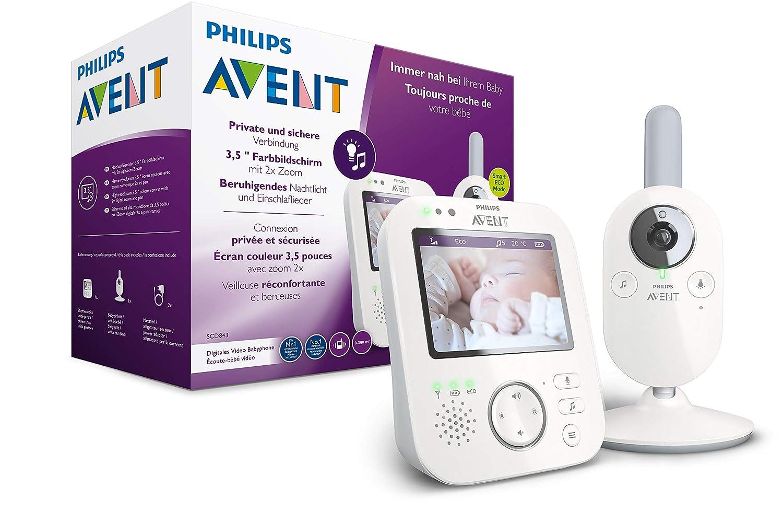 Philips AVENT SCD843/26 Video-Babyphone