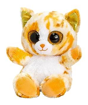Keel Toys sf0431 15 cm animotsu gato peluche, color naranja